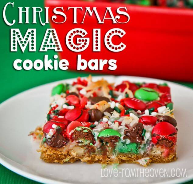 Magic Cookie Bars | Love from the Oven