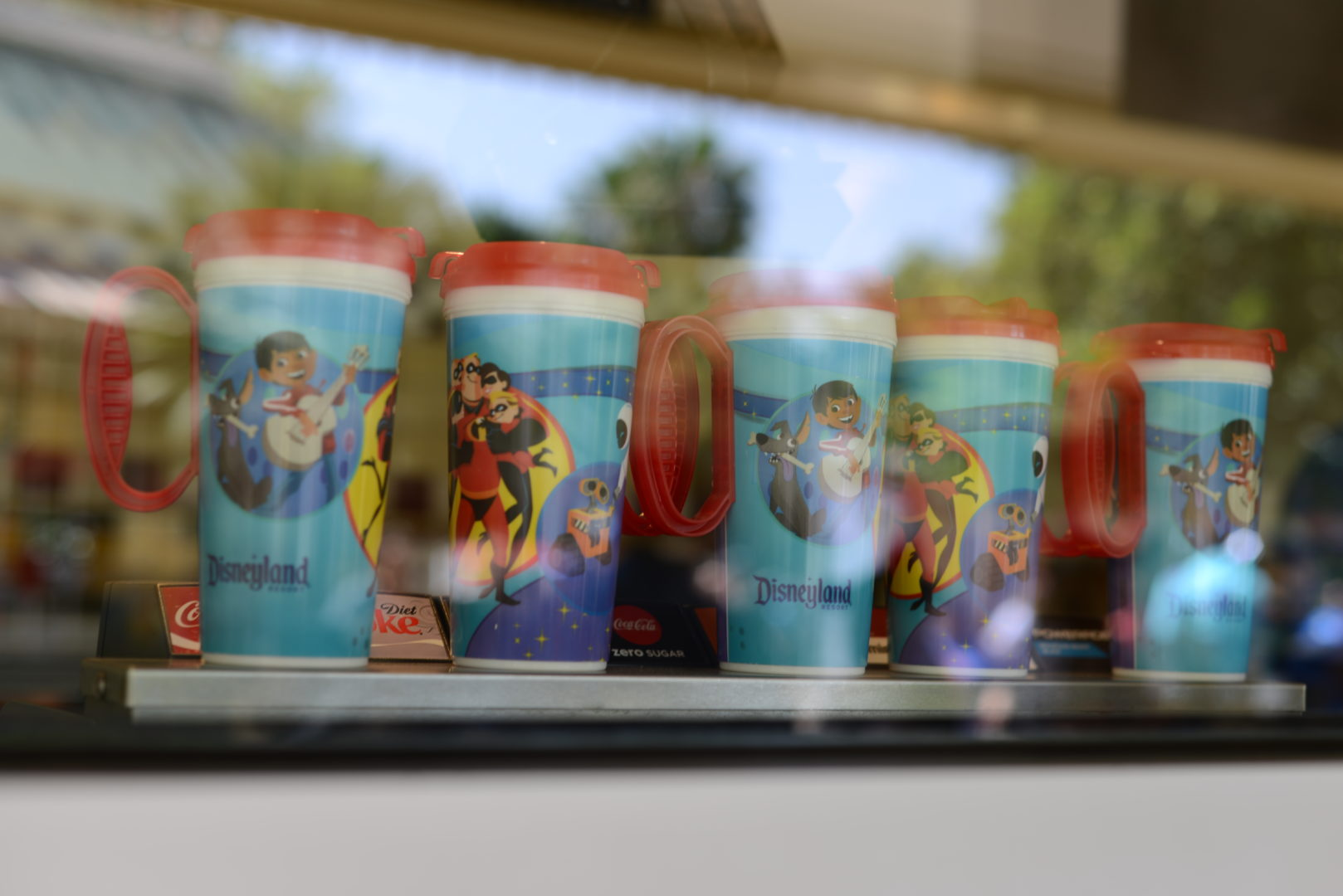 Souvenir Coco Refillable Plastic Cups for Disneyland's Pixar Fest