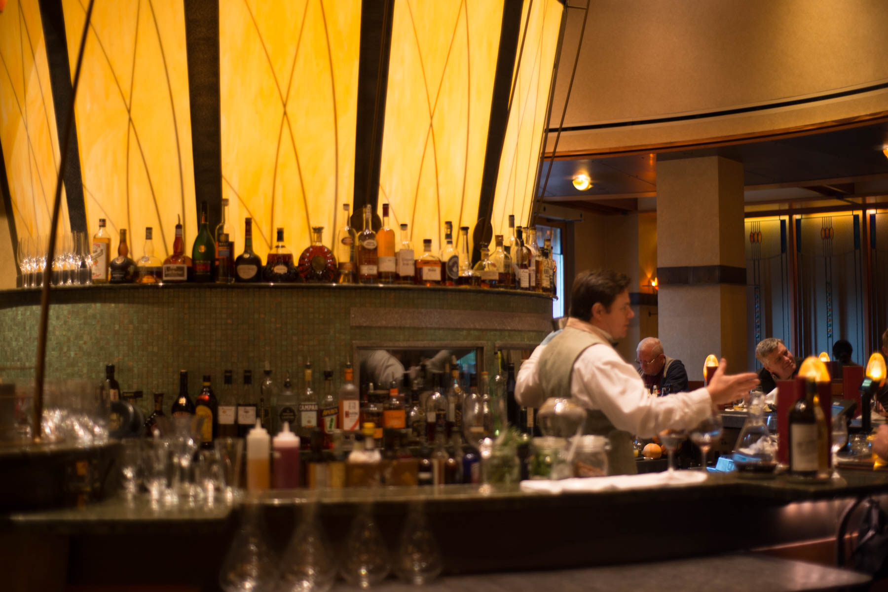 Napa Rose Lounge and Restaurant at the Grand Californian - Disneyland Activities for Adults