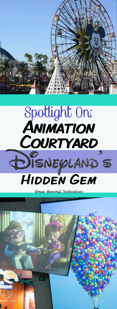 California Adventure's Animation Courtyard - Disneyland's hidden gem