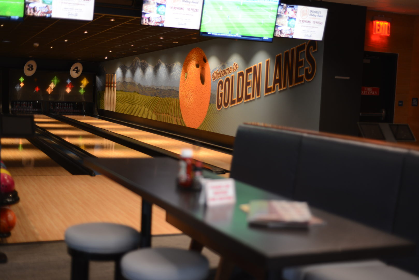 Splitsville Bowling Alley in Downtown Disney