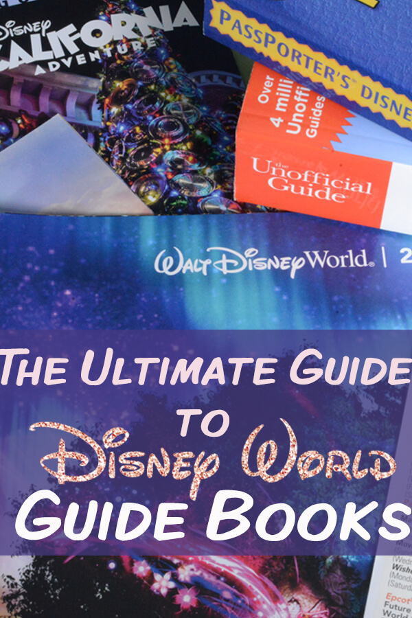 A Guide to Disney World E-Books and Guide Books