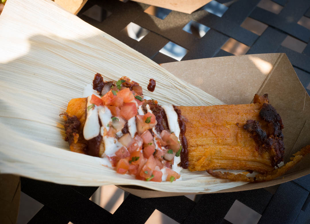 Beef Corn Tamale from Festival of Holidays in California Advneture
