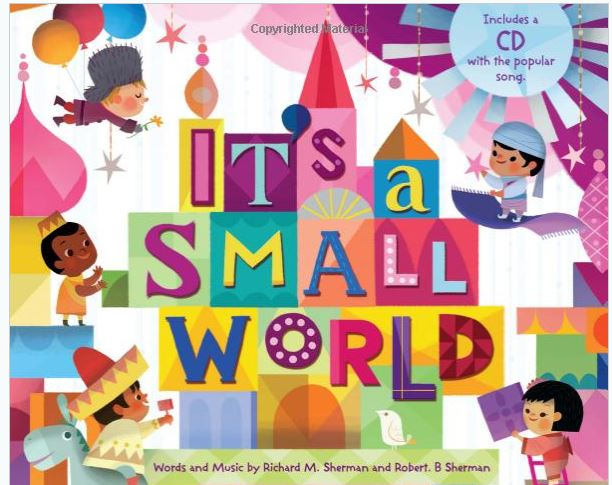 it's a small world Picture Book with CD