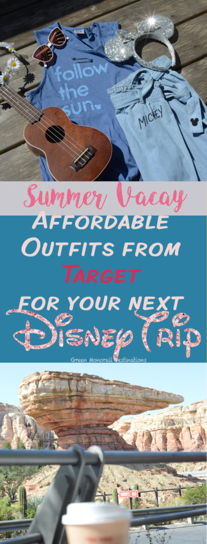Summer Vacay! Adorable outfits from Target for your next Disney trip! #disney #summer #vacation