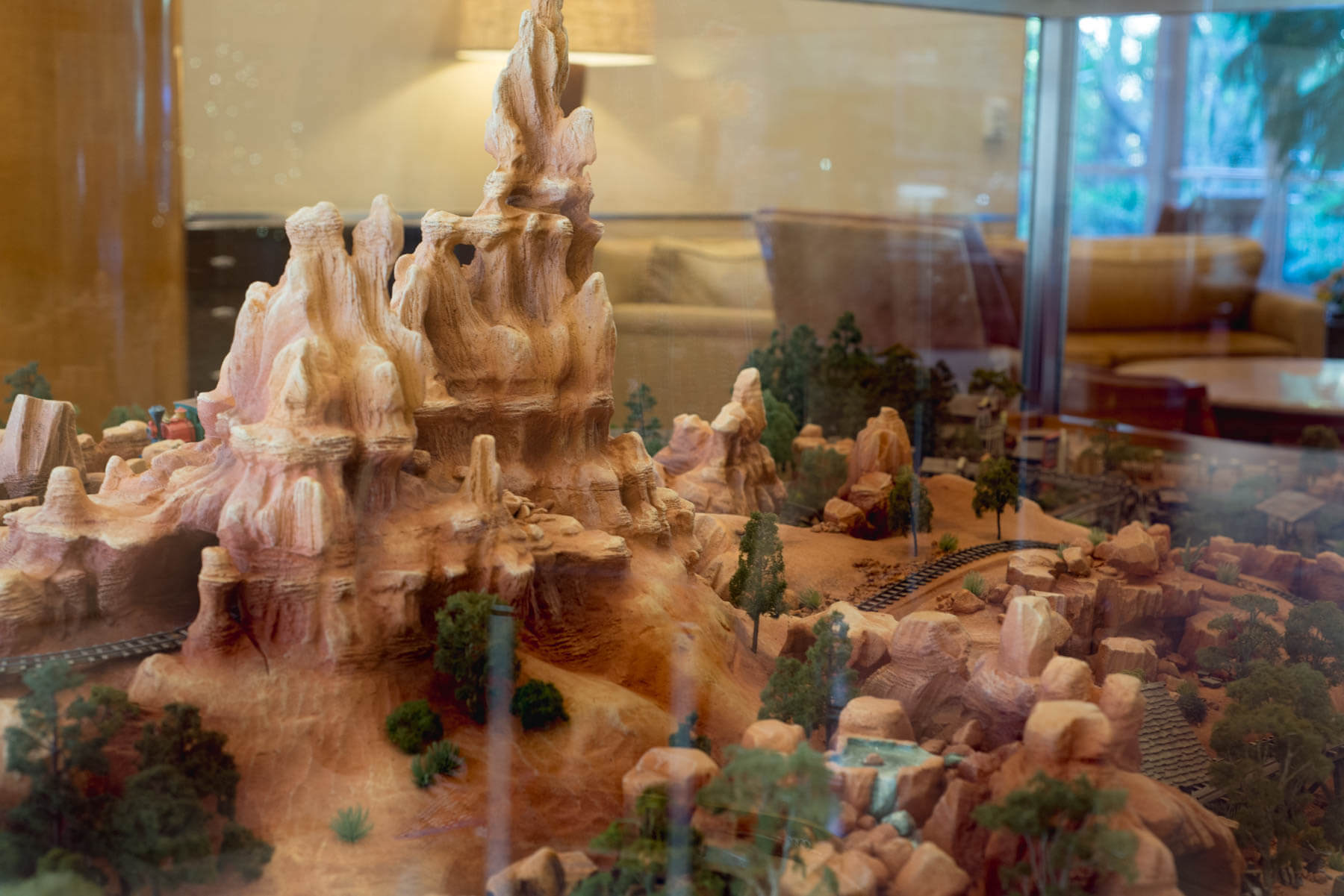 3D Map of Disneyland's Frontierland at The Disneyland Hotel