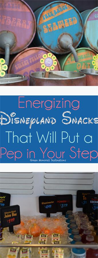 Energizing and Healthy Disneyland Snacks