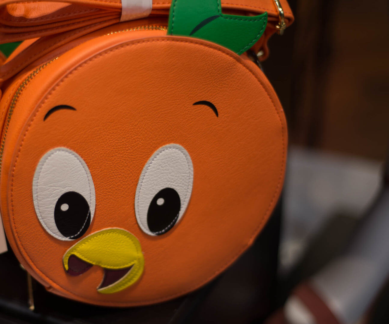 Orange Bird Purse from the Disney Dress Shop at Downtown Disney in Disneyland