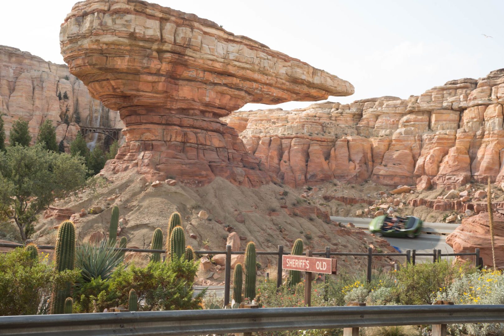 Radiator Springs Racers in Car's Land at Disneyland's California Adventure