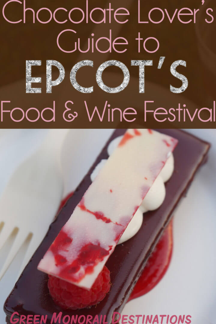 Whether you're underage, or simply don't like to drink, there are so many dishes and beverages at Food & Wine. You're bound to find something you enjoy. This year, I'm putting my extensive dessert experiences to good use and highlighting all of the great chocolate desserts featured at Epcot's Food & Wine Festival. Chocolate Lover's united! #chocolate #dessert #epcot