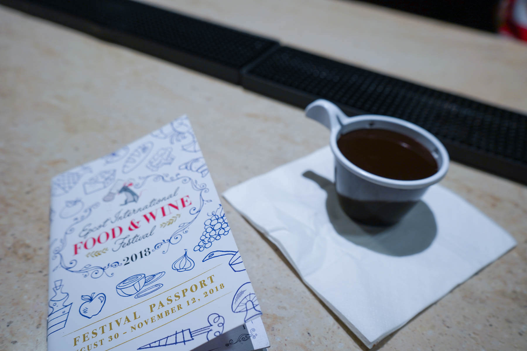 Ghiradelli's Sipping Chocolate from The Chocolate Experience - Epcot Food and Wine Festival